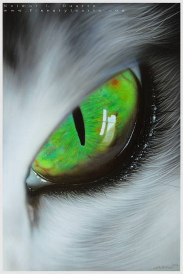 Airbrush paint on canvas