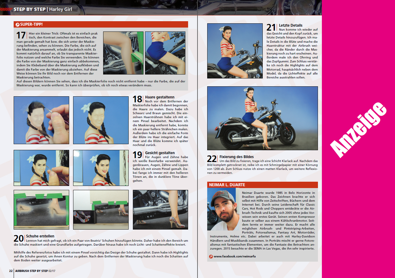 Step by step magazine Harley Girl 2