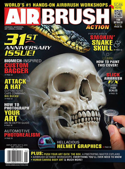 airbrush action may june 2016  BMW