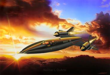 SR- 71 Blackbird
