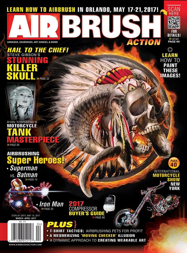 Airbrush Action (USA) Mar/April 2017