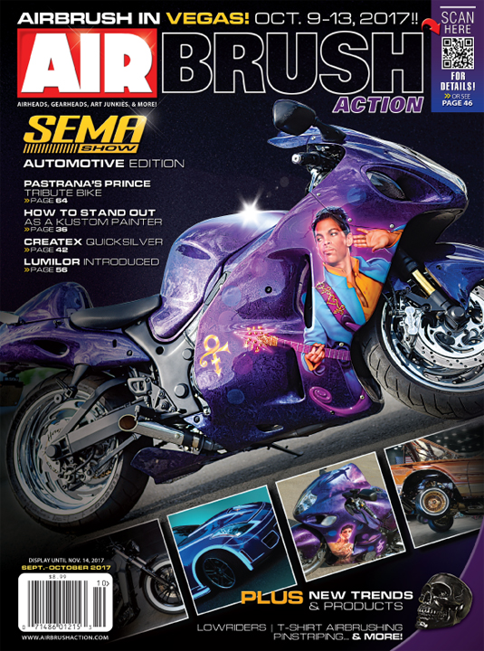 Airbrush Action (USA) Sept/Oct 2017