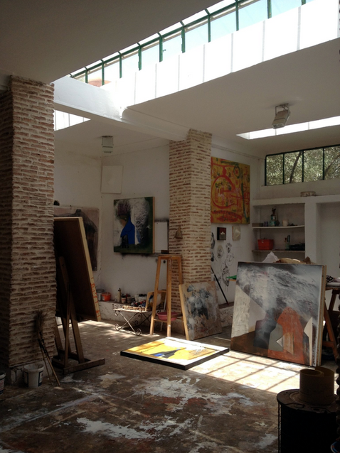 In Morocco, an Artists' Lair With Soul (NY Times 2013)