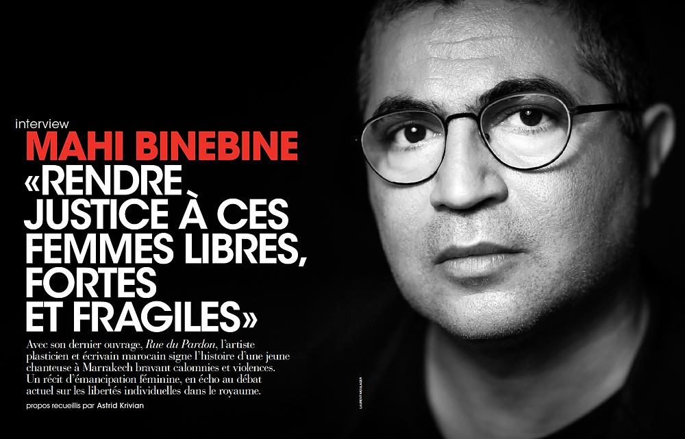 Afrique Magazine Mahi Binebine