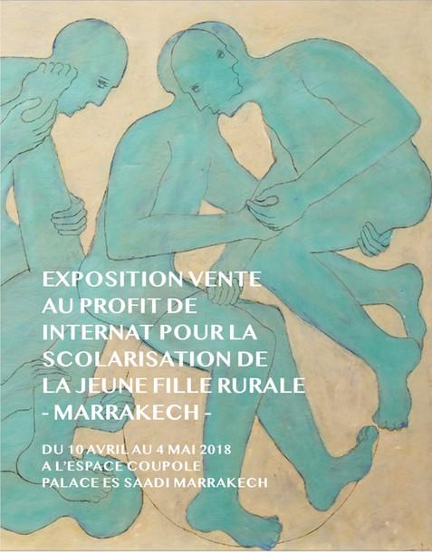 Catalogue de l'exposition-vente collective, au profit de l'internat de la jeune fille rurale