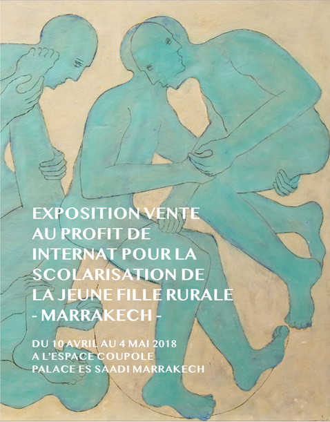 Catalogue de l'exposition-vente collective, au profit de l'internat de la jeune fille rurale