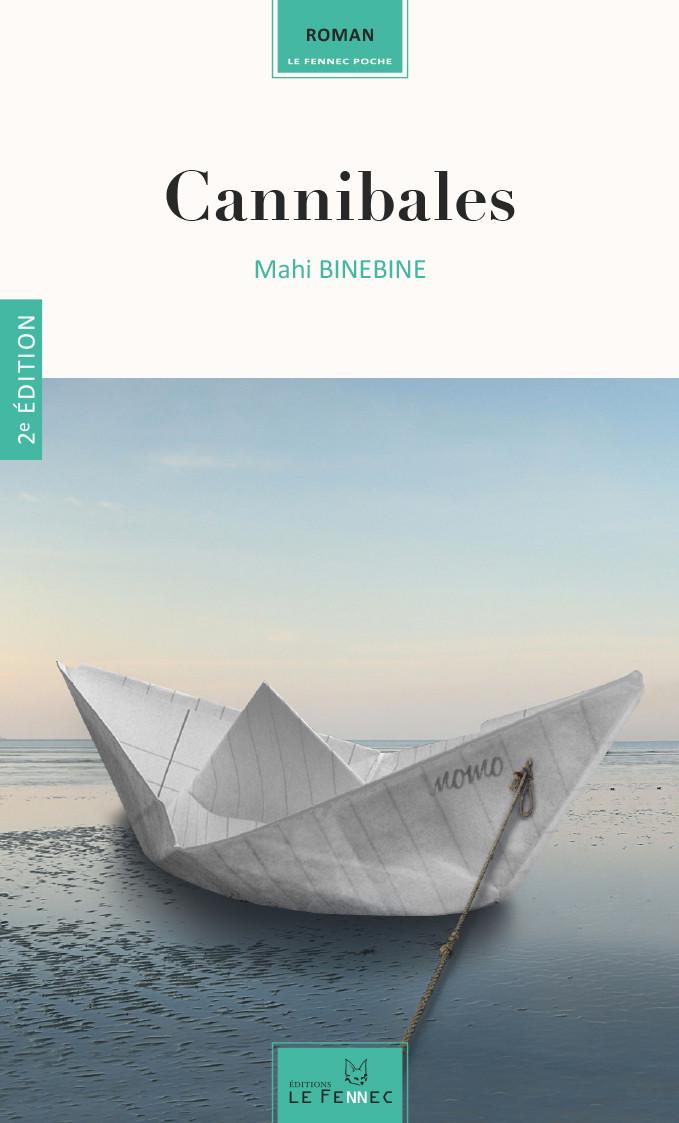"""Couverture de """"Cannibales"""" Edition Le Fennec, Poche Maroc"""