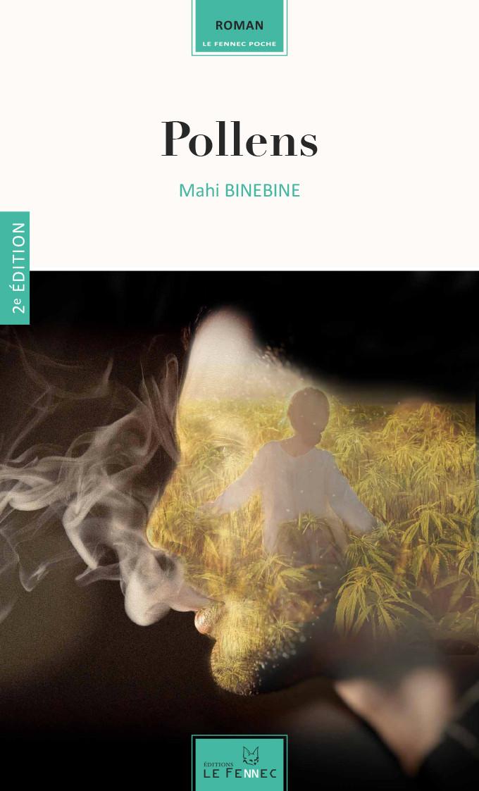 """Couverture de """"Pollens"""" éditions Le Fennec, Maroc."""