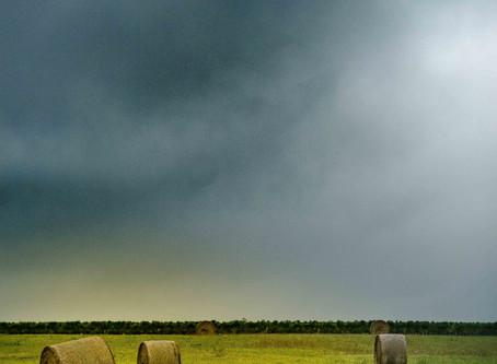 Un beau jour de pluie à Sauveterre de Guyenne