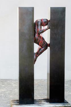 Sculpture bronze Hauteur 250cm  L  120 cm  P  80 cm copie