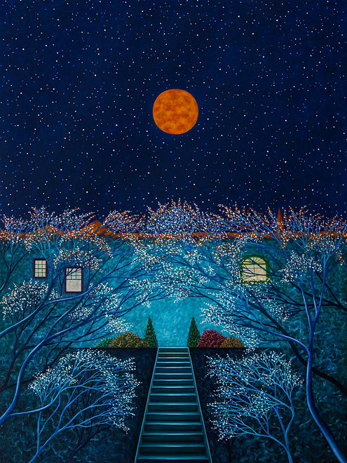 For Matthew, Spring Moon 40 x 30 2019 co
