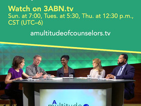 "The topic ""Mood Disorders"" is now being discussed on 3ABN!"