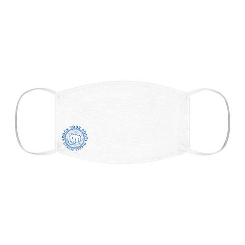 Snug-Fit Polyester RYB logo Face Mask