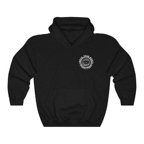 Unisex Heavy Blend™ RYB logo Hooded Sweatshirt