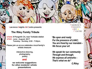 Announcing The Riley Family Tribute
