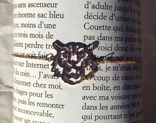 Bracelet tigre doré
