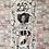 Tableau en collages enihpled Marion Cotillard french artist