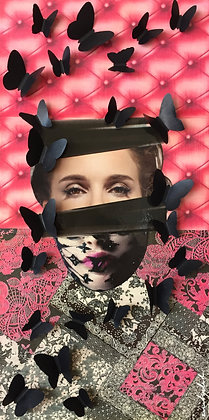 Tableau collages enihpled Natalie Portman art