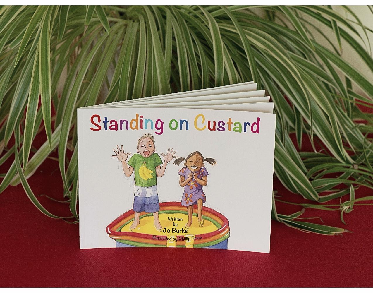 Standing on Custard Book