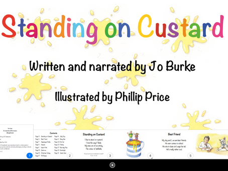Download Standing on Custard for your iPad or iPhone here: