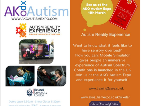 Exhibiting at Autism Expo