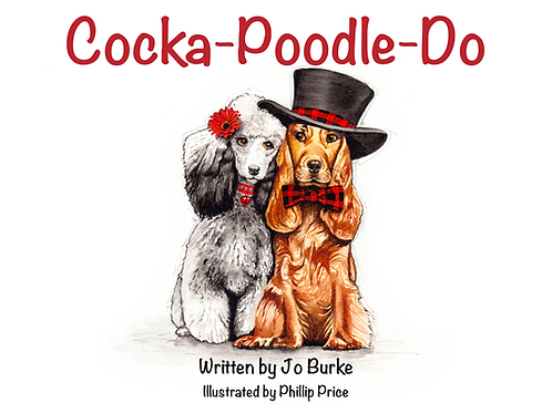 Cocka-Poodle-Do (signed, gift-wrapped & delivered)