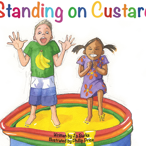 Standing on Custard (signed, gift-wrapped & delivered)