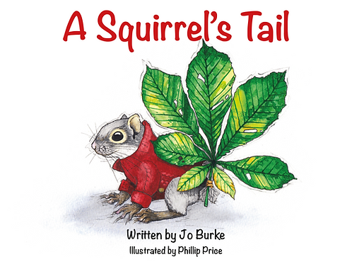 A Squirrel's Tail (signed, gift-wrapped & delivered)