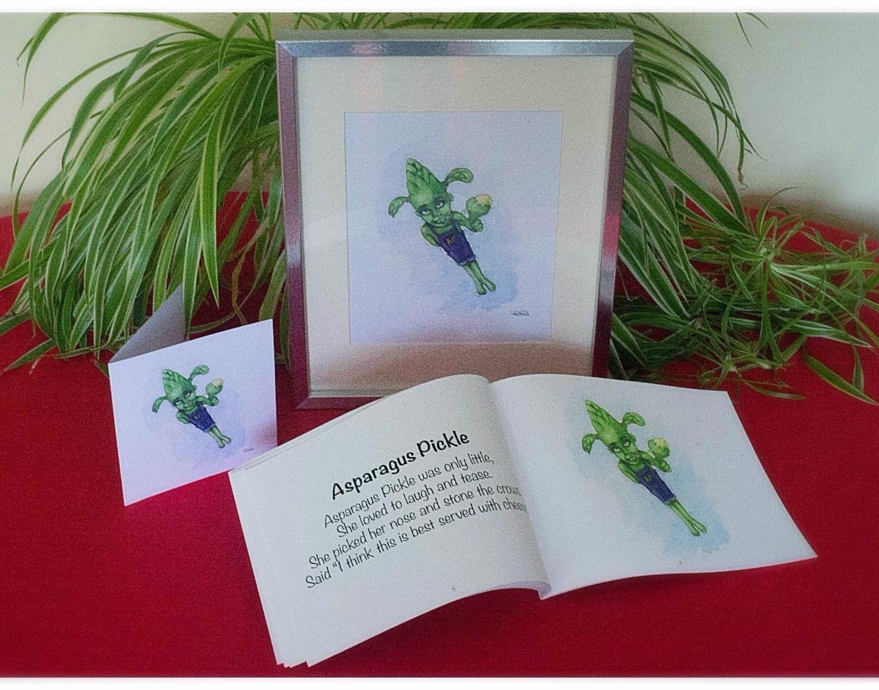 Asparagus Pickle Gift Set