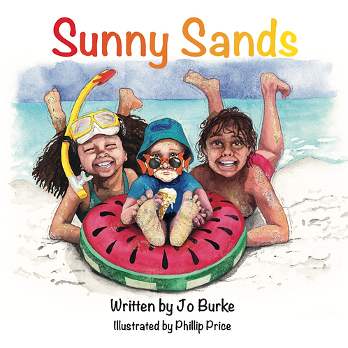Sunny Sands (signed, gift-wrapped & delivered)