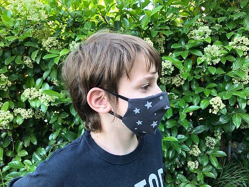 מסיכת פנים לילדים - כוכבים פחם