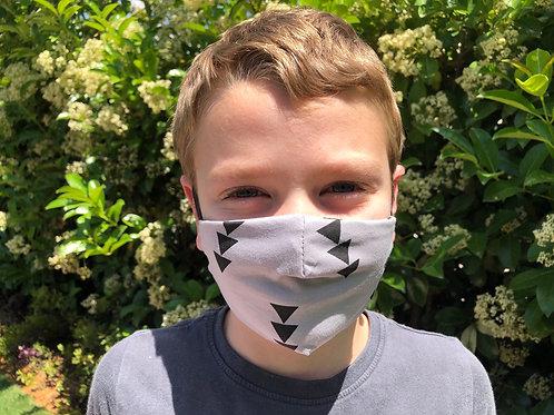 מסיכת פנים לילדים - משולשים