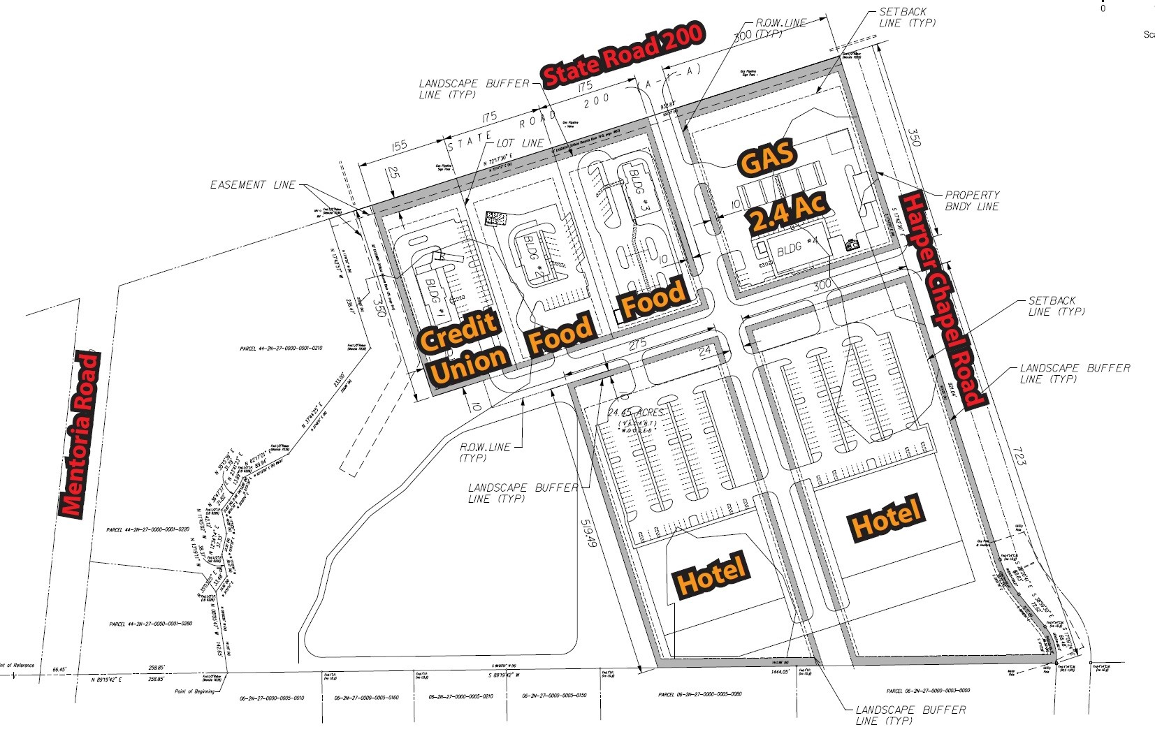Harper Chapel Site Plan