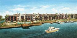 Waterside Waterfront Rendering