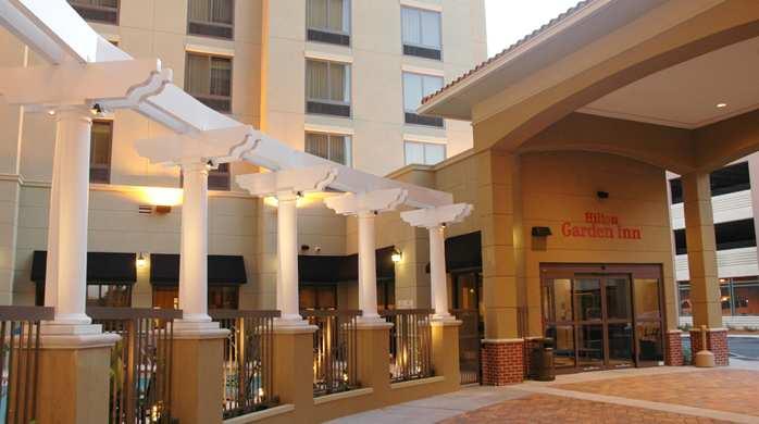 Hilton Garden Entrance