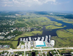 Palm Cove Marina Aerial