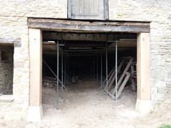2016/07/04 steel beam support has been oak faced