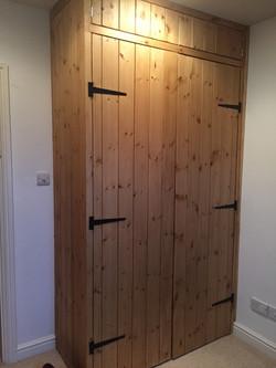 made to measure pine wardrobe