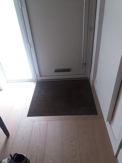 2016/09/20 flooring & door mat