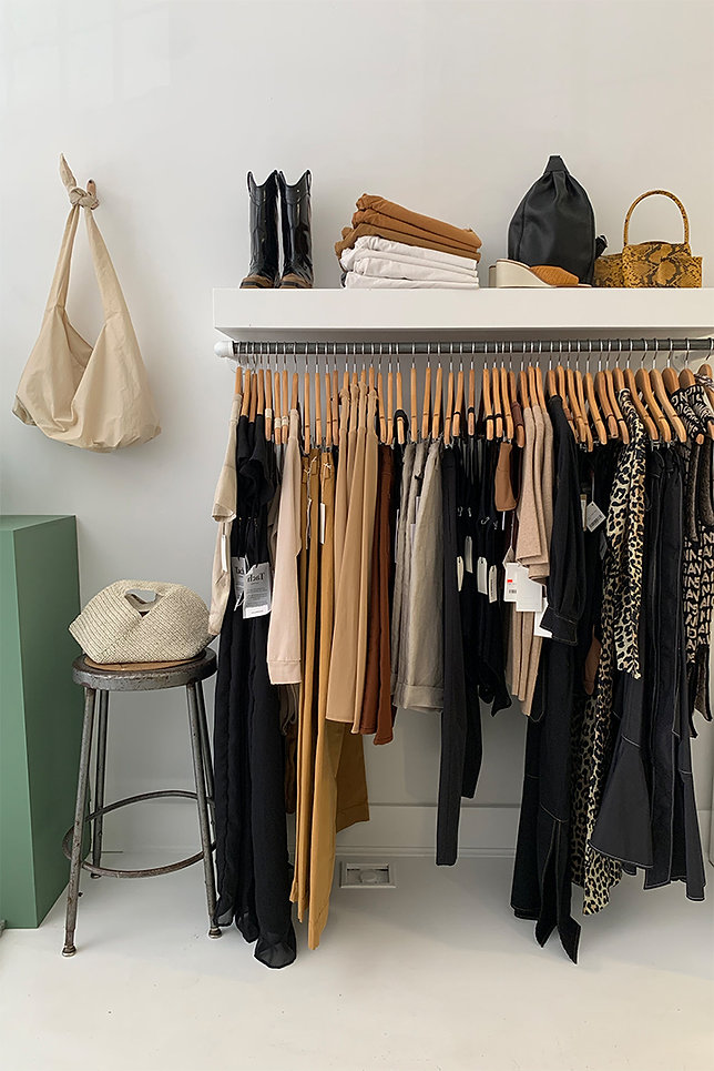 Beautiful curated space for your shopping experience