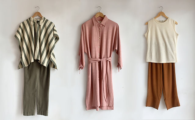 Keep cool in these chic, minimalist casual wear for those warm summer days.
