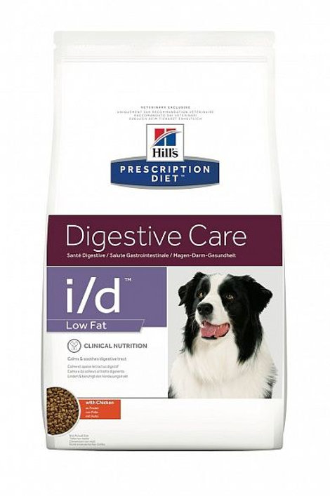 Сухой корм Hill's Prescription Diet I/D Digestive Care Low Fat низкокалорийный д