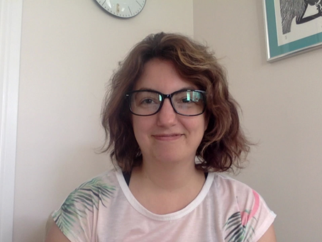 Welcome! Here I am working from home during COVID...