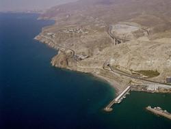 Vista aérea entre Almería-Aguadulce