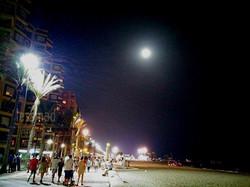 Super Luna desde Almería