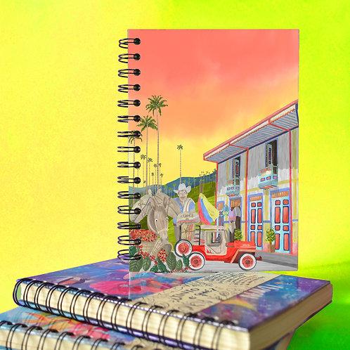 Cuaderno -Cafetero-
