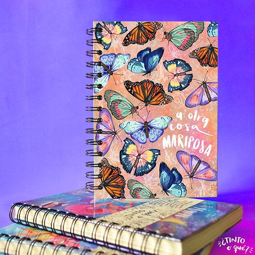 Cuaderno -Mariposas-