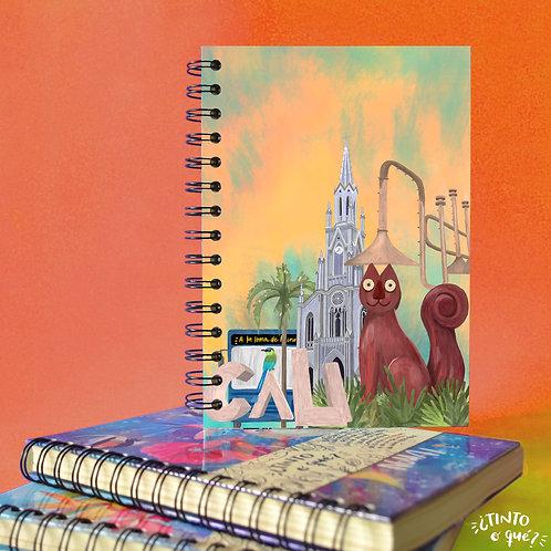 Cuaderno -Cali bonita-