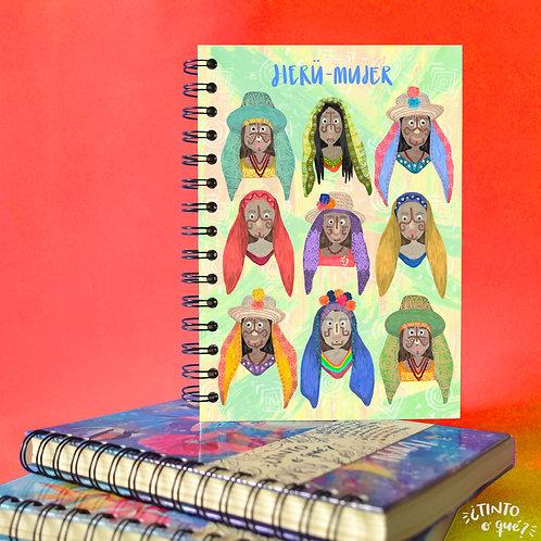 Cuaderno Jierü - Mujer Wayú