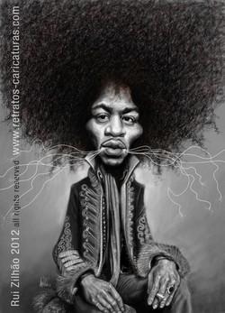 Jimi+Hendrix+by+Rui+Zilhao+2012+-+www.retratos-caricaturas.com
